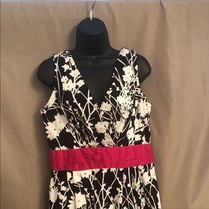 Julian Taylor Black and white dress